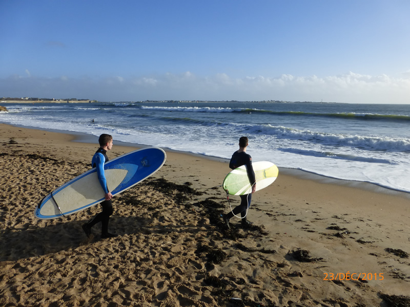 Surf au fort Bloque